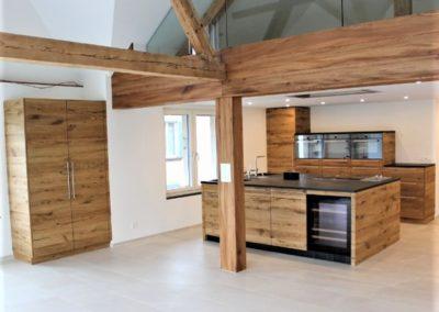 Referenz Küche 2d Innenausbau - Hüppi Schreinerei GmbH ¦ Gommiswald