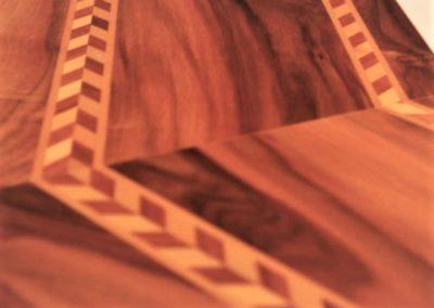 Referenz Möbel Tisch 3a Detail - Hüppi Schreinerei GmbH ¦ Gommiswald