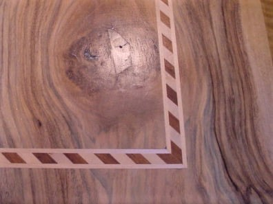 Referenz Möbel Tisch 5a Detail - Hüppi Schreinerei GmbH ¦ Gommiswald