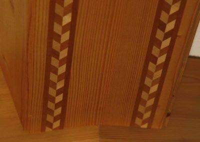 Referenz Intarsiendecke 2 - Hueppi Schreinerei ¦ Werkstatt
